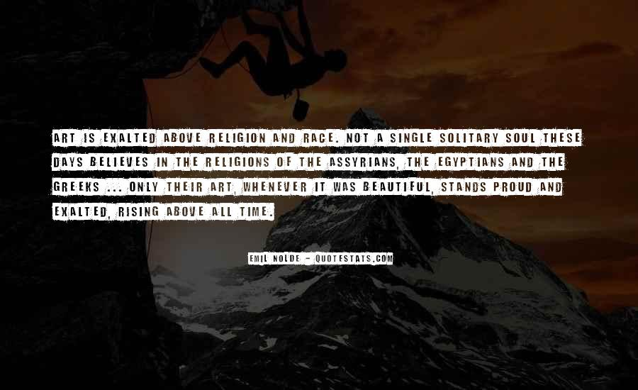 Quotes About Exalted #86608