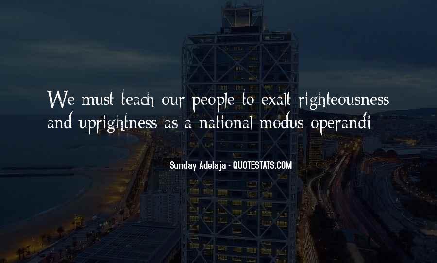 Operandi Quotes #1154508