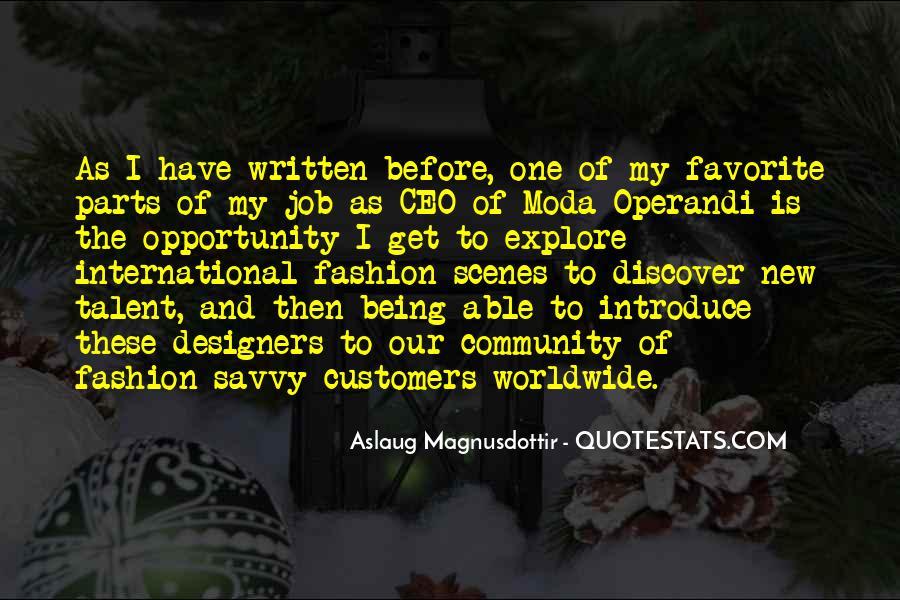 Operandi Quotes #1536325