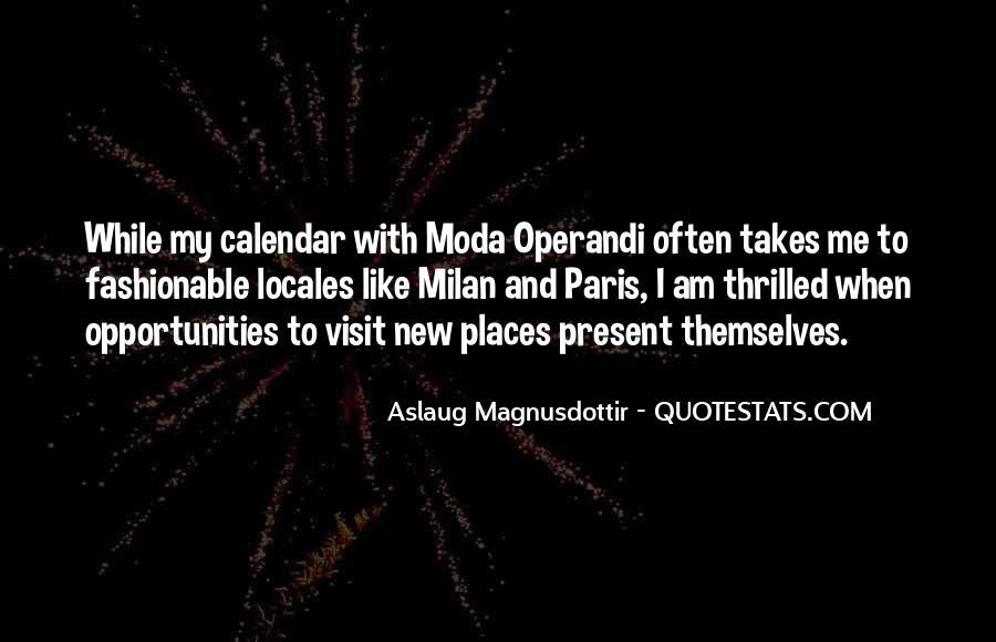 Operandi Quotes #1640724