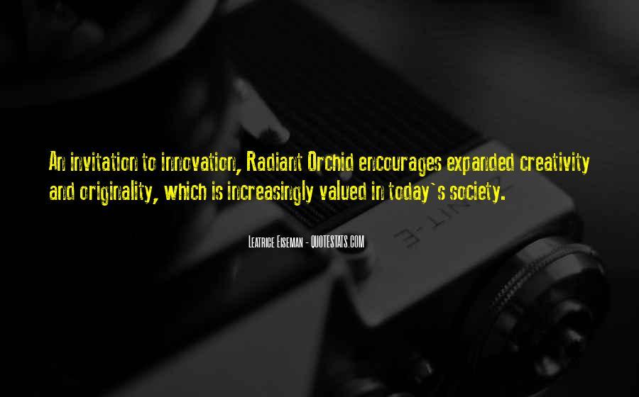 Originality's Quotes #1003120