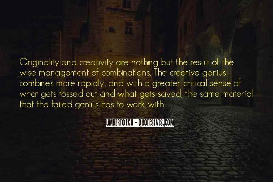 Originality's Quotes #10412