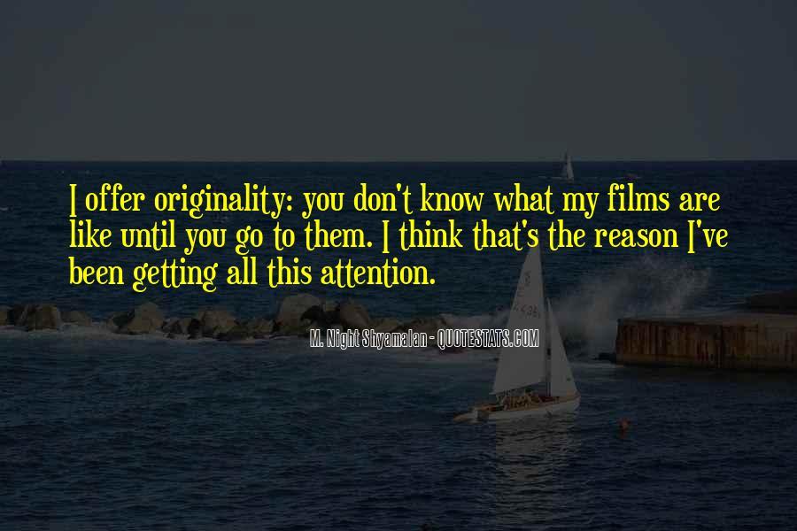 Originality's Quotes #1060316