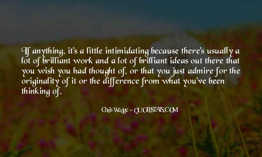 Originality's Quotes #1060439