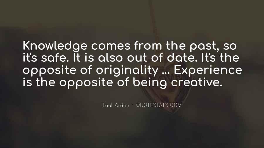 Originality's Quotes #1087735