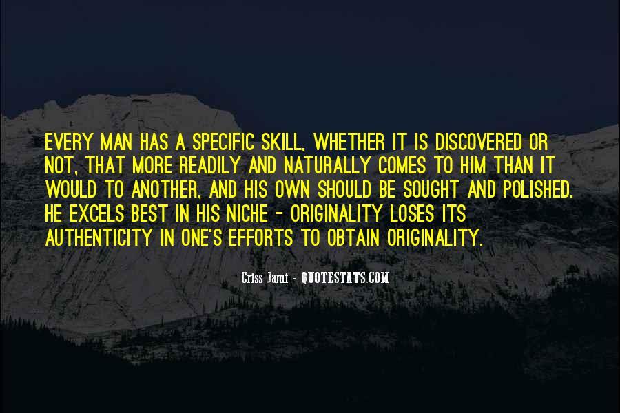 Originality's Quotes #1158616