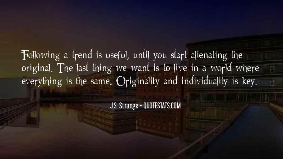 Originality's Quotes #1185473