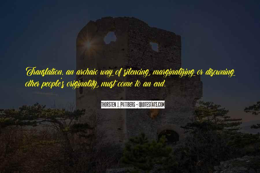 Originality's Quotes #1256494