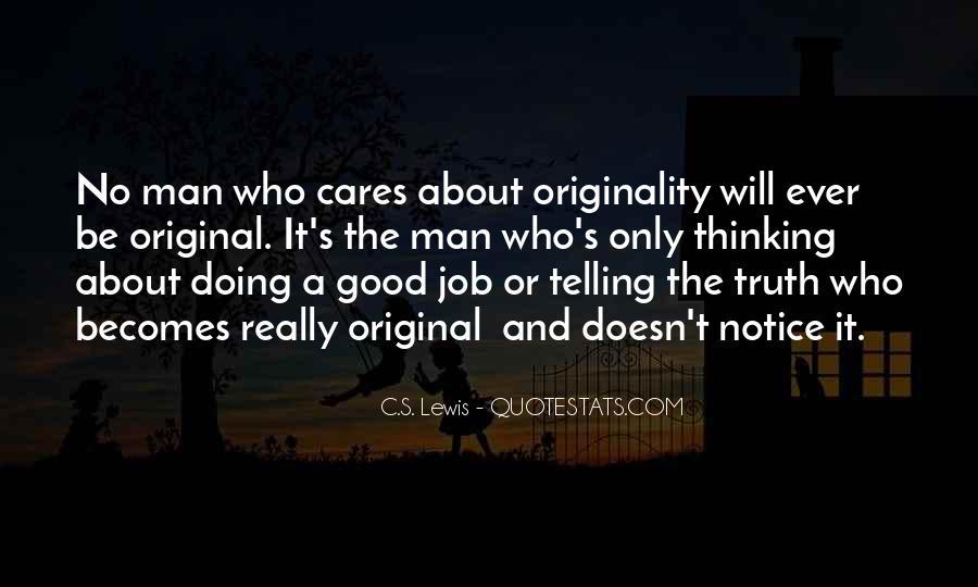 Originality's Quotes #1272349
