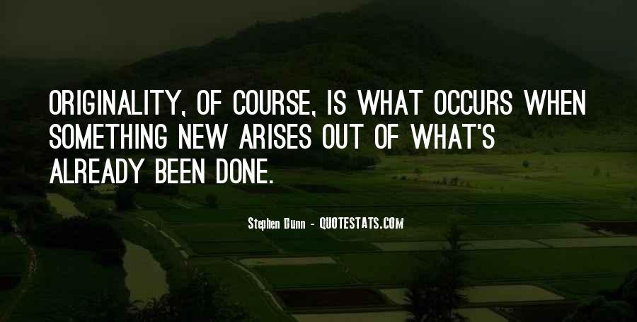 Originality's Quotes #1309645