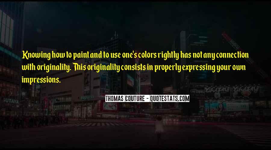 Originality's Quotes #1353926
