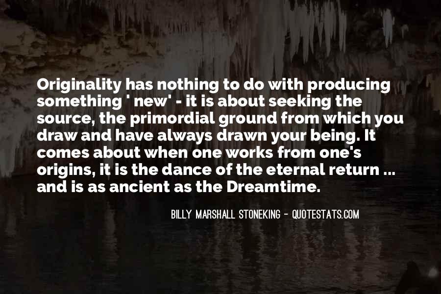 Originality's Quotes #1459521