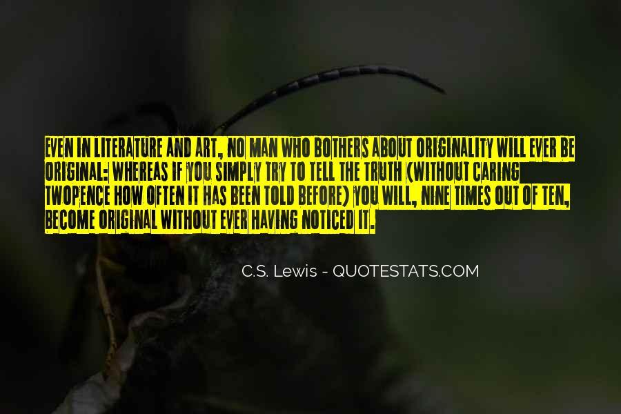 Originality's Quotes #1515468