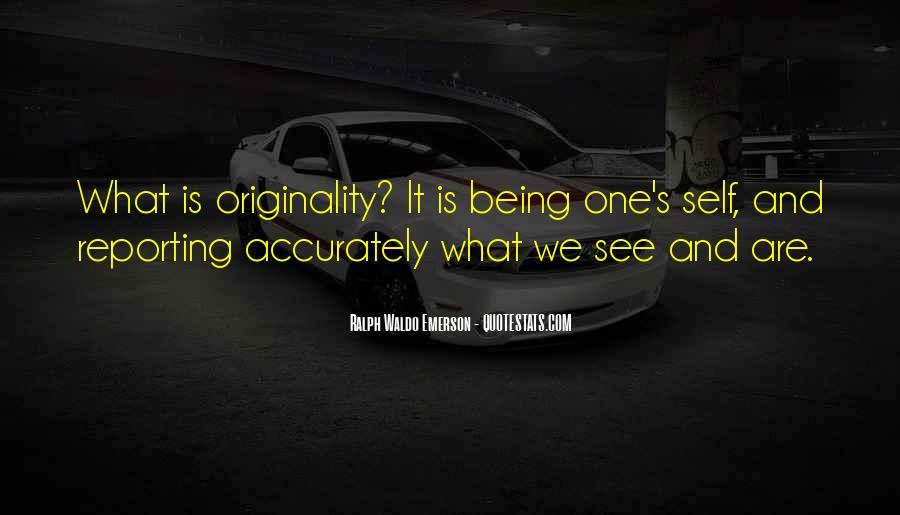 Originality's Quotes #1595040