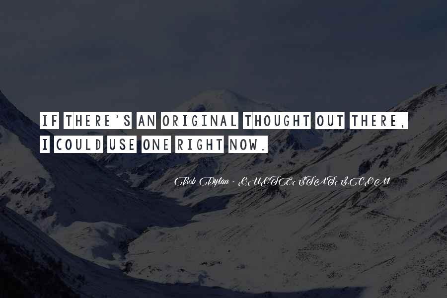 Originality's Quotes #1672919