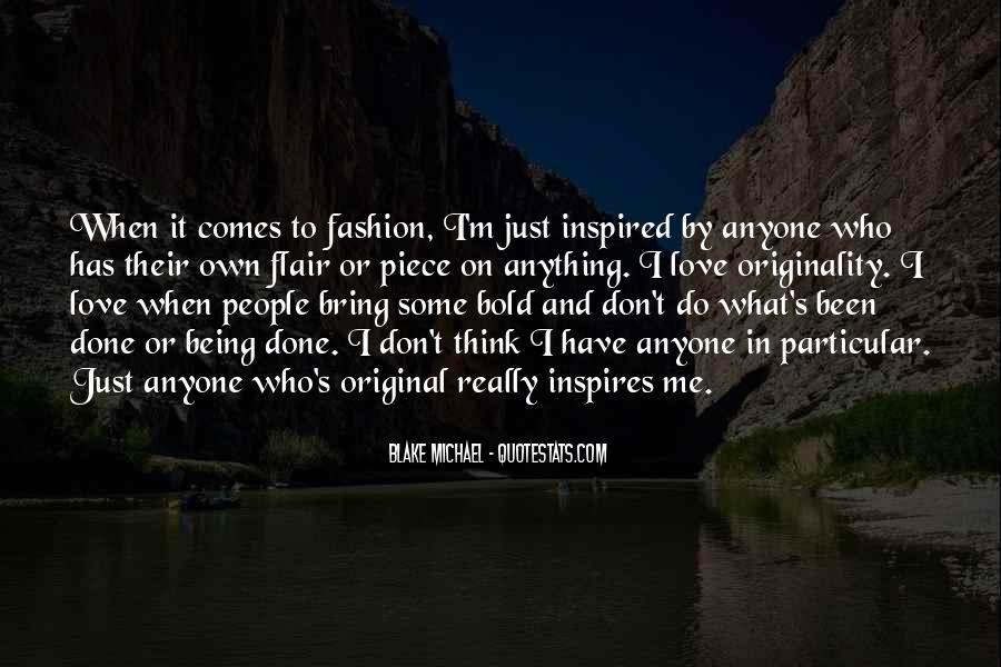 Originality's Quotes #1701047