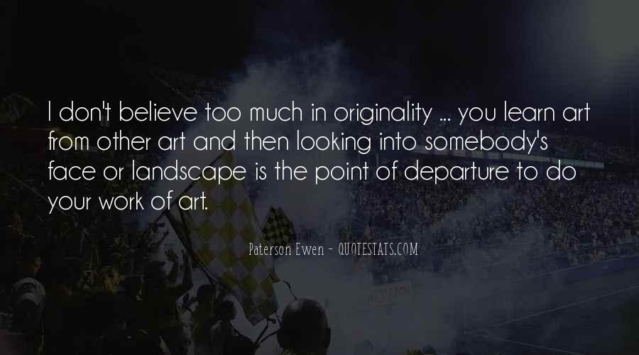 Originality's Quotes #1862941