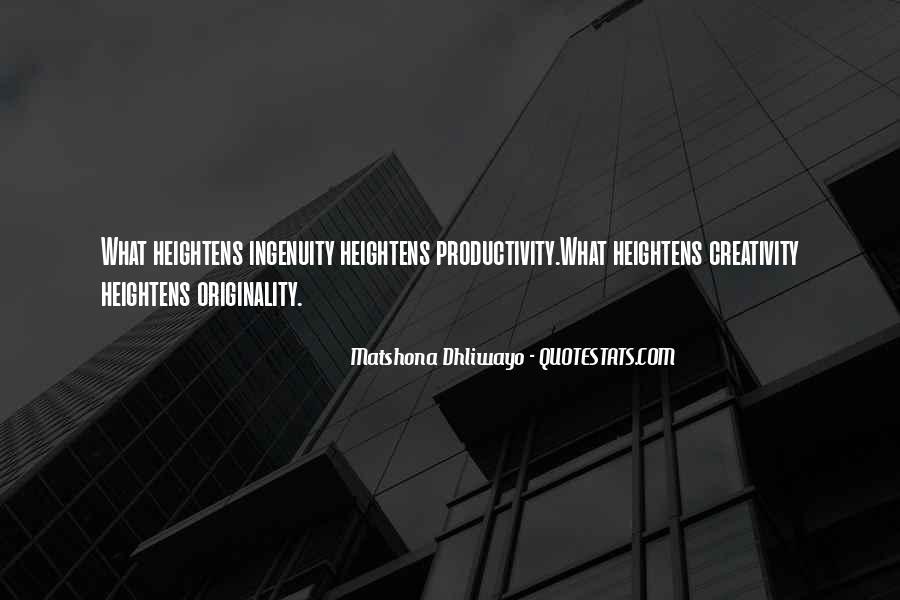 Originality's Quotes #24667