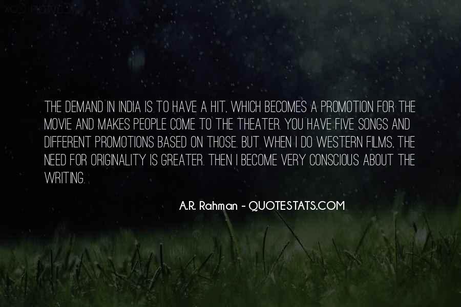 Originality's Quotes #33019