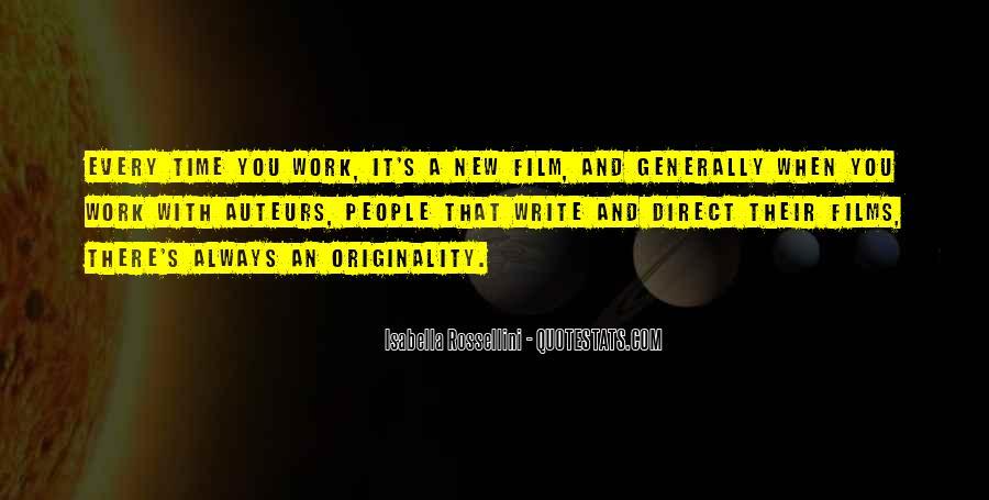 Originality's Quotes #393324