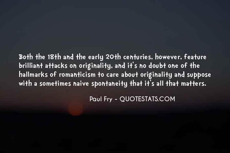 Originality's Quotes #409853