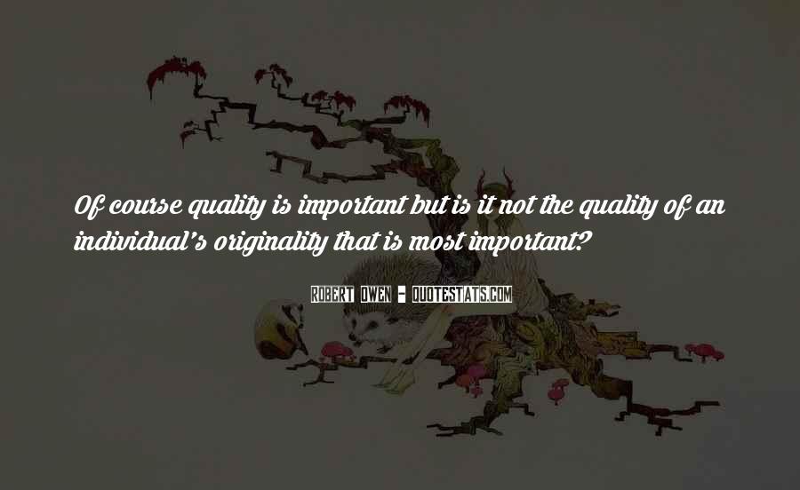 Originality's Quotes #50455