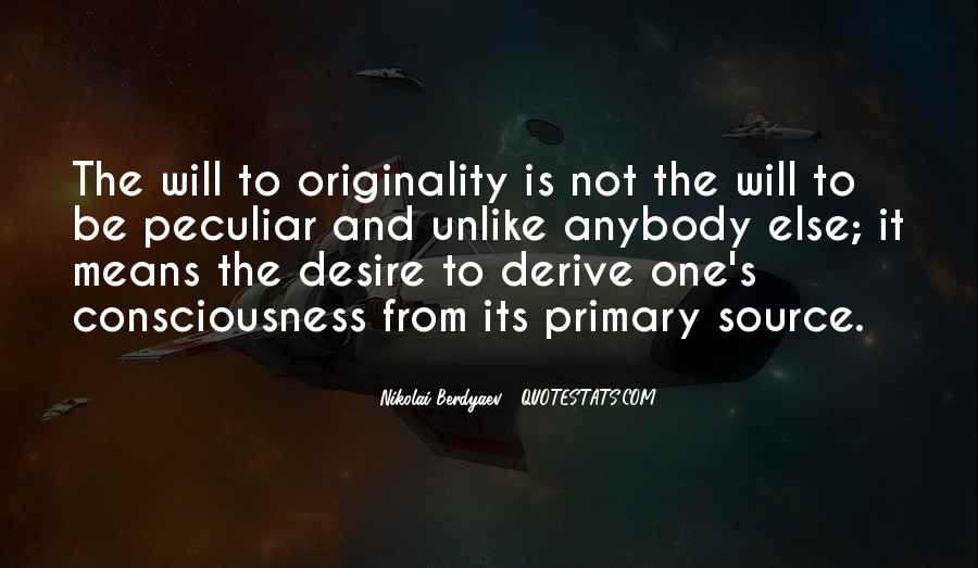 Originality's Quotes #504805