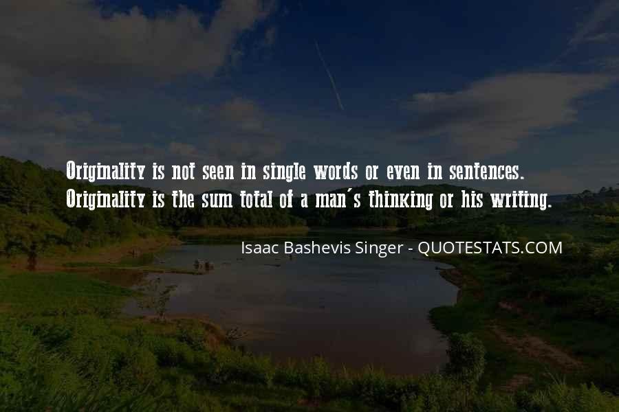 Originality's Quotes #535289