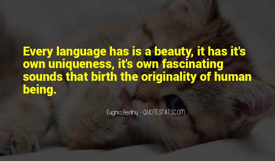 Originality's Quotes #589026