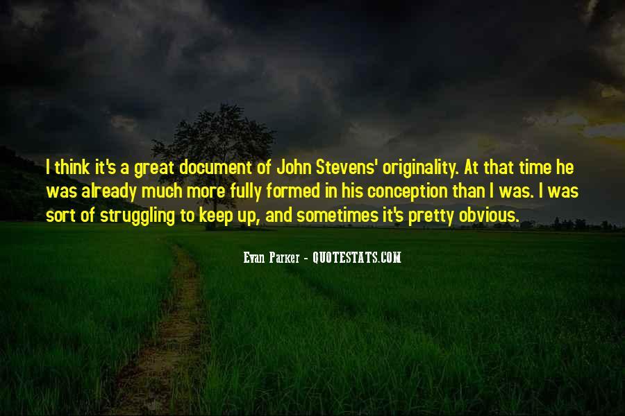 Originality's Quotes #594348