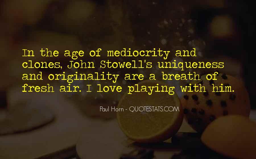 Originality's Quotes #61874