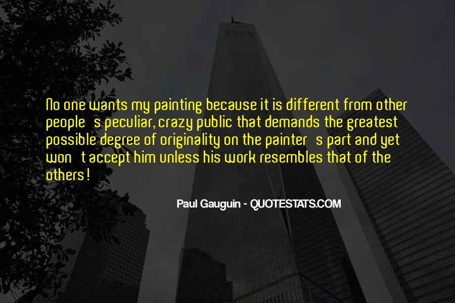 Originality's Quotes #6230