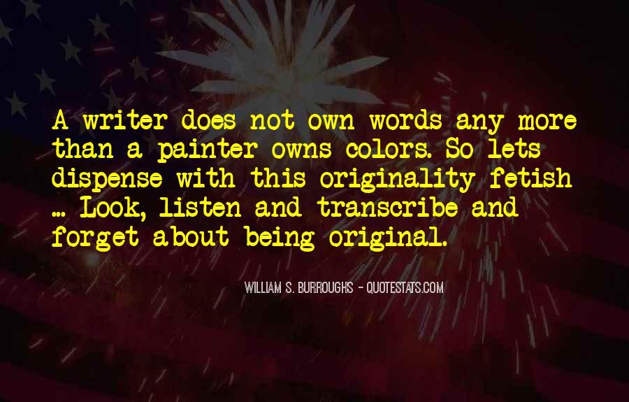 Originality's Quotes #669566