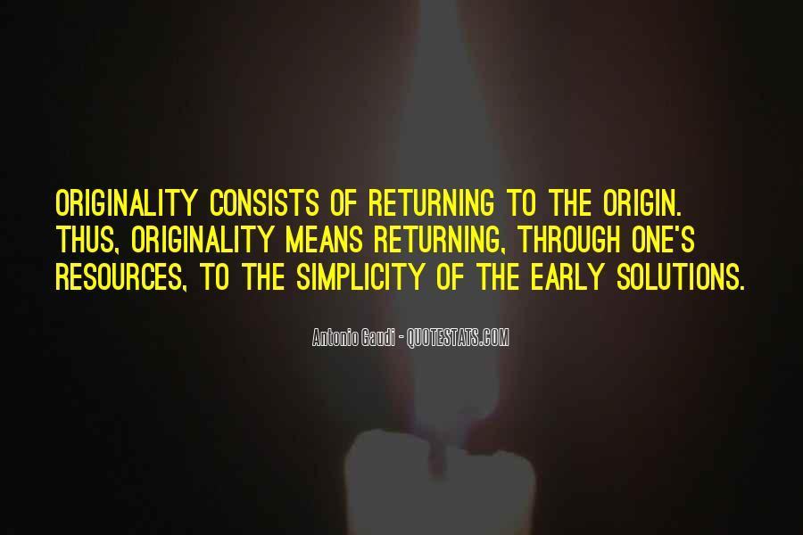 Originality's Quotes #776686