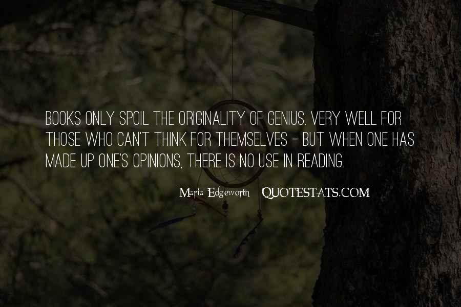 Originality's Quotes #864997