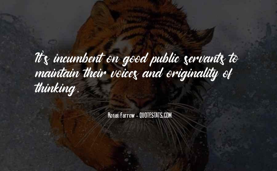 Originality's Quotes #884093