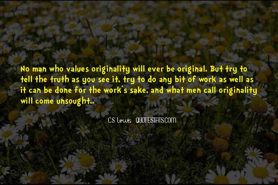 Originality's Quotes #937462