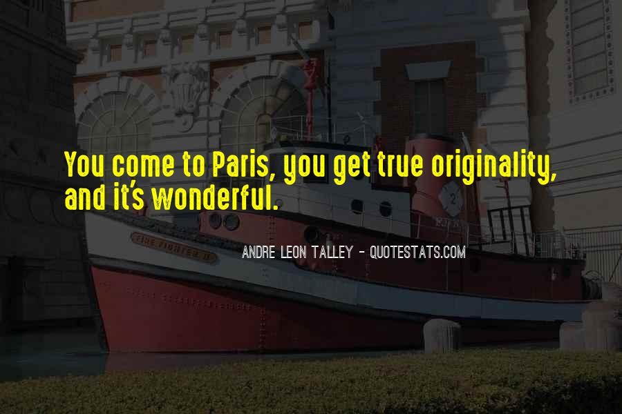 Originality's Quotes #951730