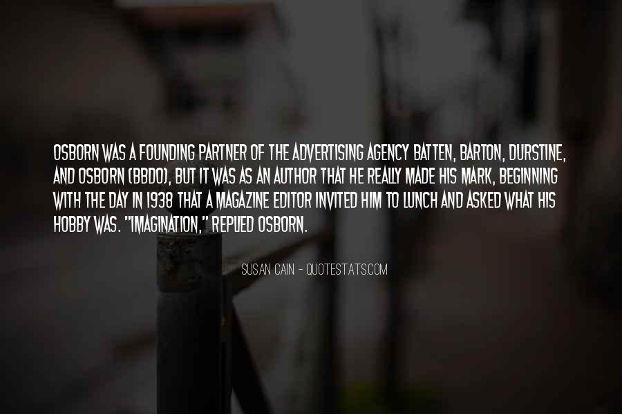 Osborn's Quotes #416022