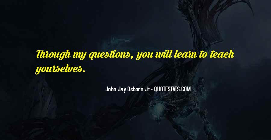 Osborn's Quotes #874905