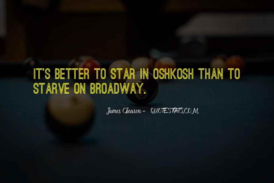Oshkosh Quotes #1118547