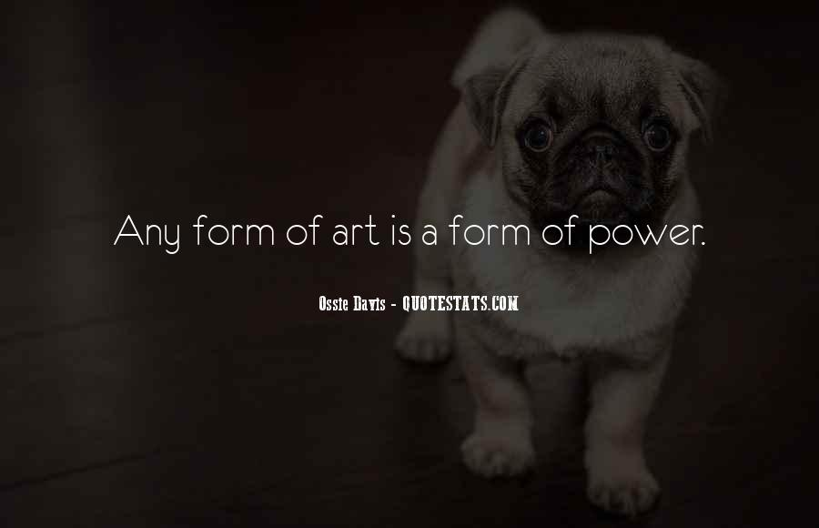 Ossie Quotes #1232209