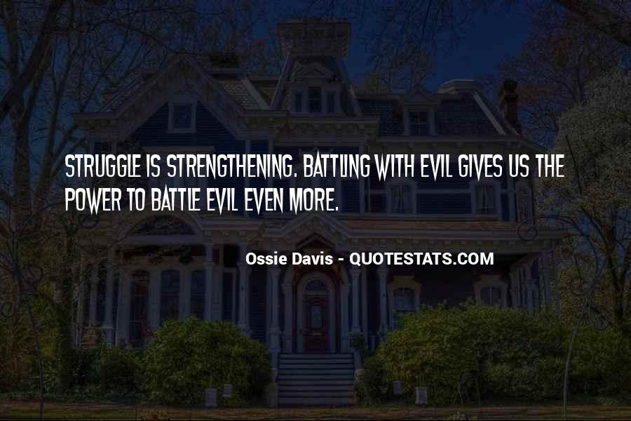 Ossie Quotes #1301983