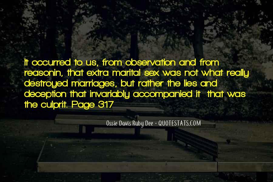 Ossie Quotes #1601062