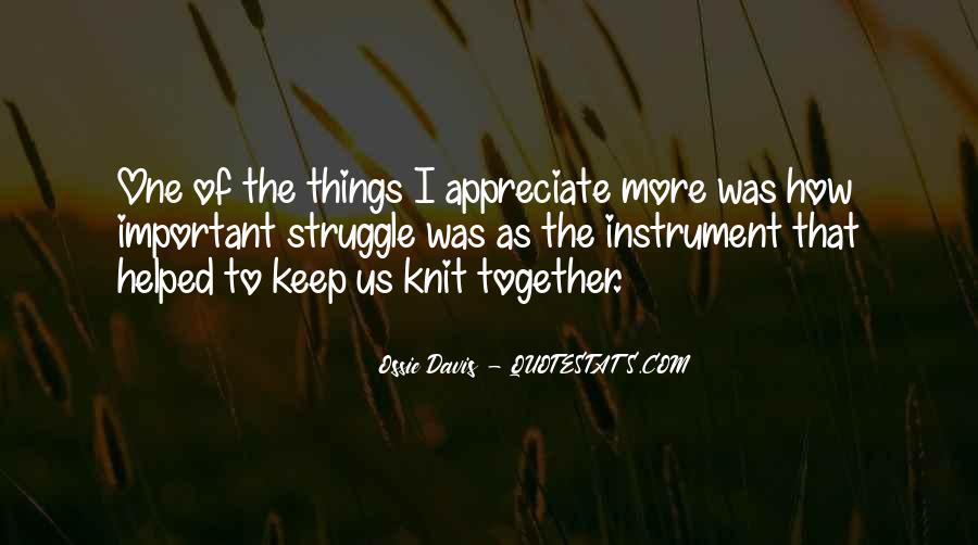 Ossie Quotes #1785809