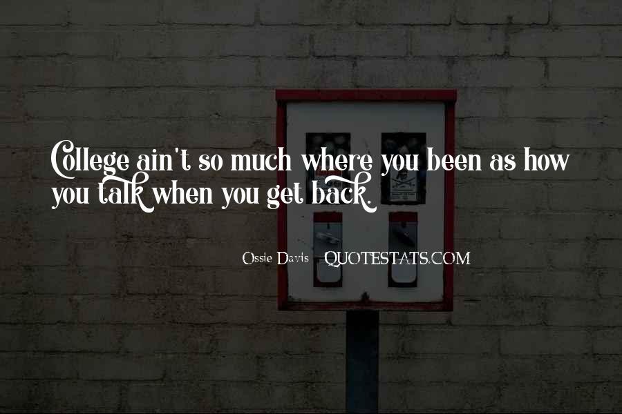 Ossie Quotes #563469
