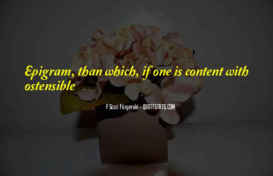 Ostensible Quotes #1259207