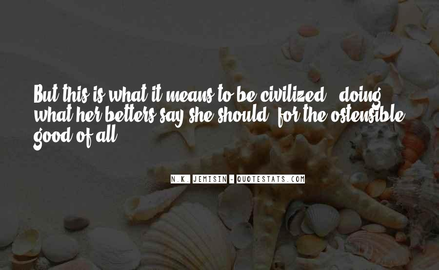 Ostensible Quotes #1877088