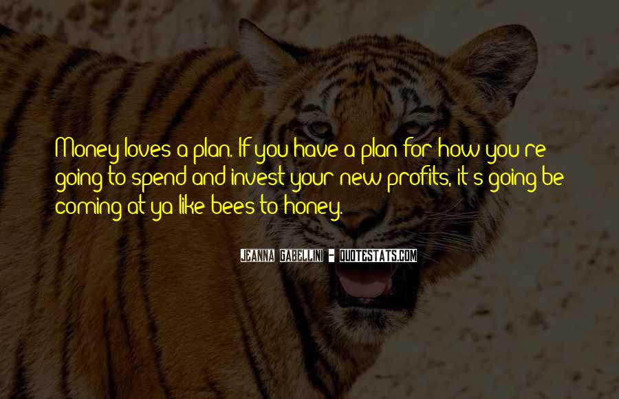 Quotes About A Plan Coming Together #1804028