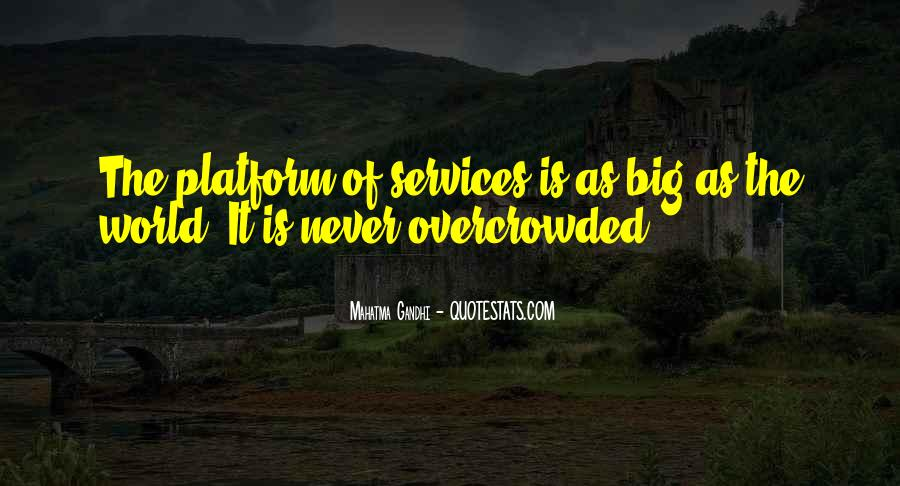 Overcrowded Quotes #1168418